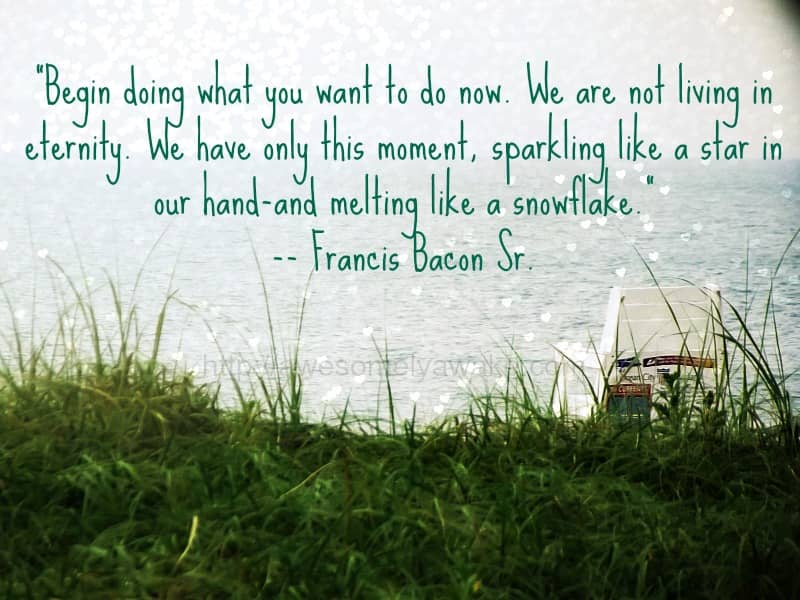 mindfulness quotes francis bacon